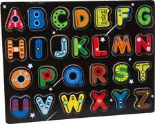 Puzzle en bois : Alphabet espace