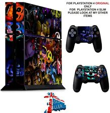 FIVE NIGHTS AT FREDDY`S 5 ps4 Skin Decals Playstation 4 wrap vinyl stickers