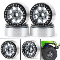 "Alloy RC 1/10 1.9"" Beadlock Crawler Wheels Rims Set For SCX10 TRX-4 D90 Crawler"
