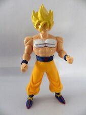 Dragon ball z figurine GOKU 22 cm 2008 power booster série DBZ mécansime ok *