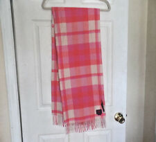 PHENIX CASHMERE BEATIFUL 100% CASHMERE SCARF IN PINKS AND RED NWT