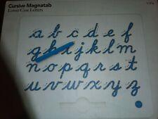 Kid O Learn to Write Cursive Magnatab Lower Case, Multicolor