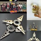 Naruto Asuma Ninja Rotable Shuriken Weapon Necklace Cosplay Kakashi Sasuke Gift