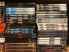 245 Action - Dvd Movies Lot Dvds - Pick and Choose- Save on Shipping! Comedy