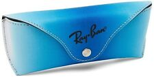 Ray-Ban Gradient Aqua Blue Sunglasses Case  with Cleaning Cloth