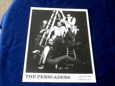 PERSUADERS~ MEGA RARE~ PROMO ONLY~ OUT OF PITTSBURGH PA~ ROCK ~ PHOTOS