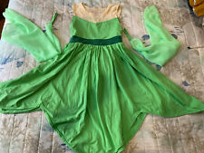 Only Little Once Princess Frog Dress Costume Child Size 7 Boutique