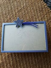 Elsal, Inc Target 4 X 6 Shooting Star Picture Frame Blue Lovely Cute Frame