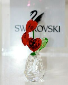 Swarovski Original Figurine Flower Blumenträume Hearts 5415273 New