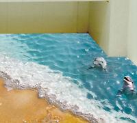 3D Starfish Floor Wall Sticker Removable Mural Decal PVC Bathroom Home Decor hot