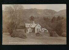 Scotland Wigtownshire NEWTON STEWART Glen Trool Lodge Used 1915 RP PPC