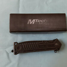 M-TECH USA MT-A40P SPRING ASSIST   FOLDING KNIFE ORIG, BOX