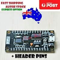 NodeMCU V3 Lua WIFI Module ESP8266+32M Extra Memory Flash USB-Serial CH340G AU