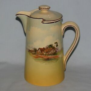 Royal Doulton New Barton seriesware water pot English Cottages D4987 #1