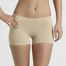 Maidenform Light Control Seamless Boy Shorts  Beige Plus Size 2XL 2 Pack 12587