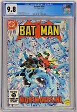 Batman #376 Marvel 1984 CGC 9.8 White Pages Nightmares Inc Robin