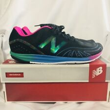 New Balance Minimus MR10RB Running Shoes Men's size 9 D - Black and Rainbow