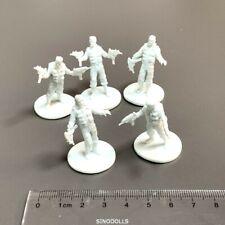 5x Zombicide Survivors For Dungeons & Dragons D&D Board Game Miniatures Figures