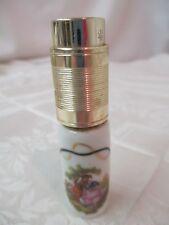 Vintage France Paris Limoges Step porcelain Perfume Atomizer Courting Couple