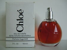 "Chloe Lagerfeld Parfums ""Classic"" EDT Nat Spray 90ml - 3.0 Oz - Vintage Testeur"