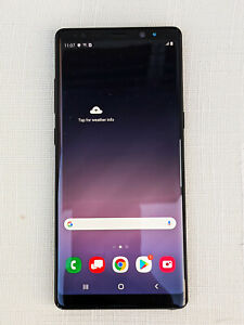 Samsung Galaxy Note 8 SM-N950U - 64GB  Midnight Black (Verizon) Locked.