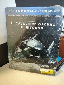 Batman Il Cavaliere Oscuro Il Ritorno Blu Ray Steelbook 2 Dischi Italiano PRIMO