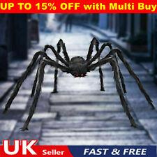 200cm Halloween Haunted House Giant Black Spider Prop Decor Home Spider Outdoor