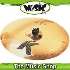 """New Zildjian 16"""" K Custom Fast Crash Cymbal - K0982 Authorsied Dealer"""