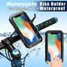IPX8 Waterproof Touch Case Motorcycle Bike Handlebar Mount Holder For iPhone X