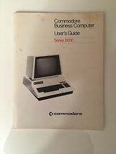 COMMODORE PET Business computer Users GUIDE Series 8000 LIBRO MANUALE