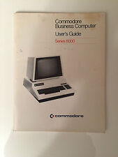 COMMODORE PET business computer Users Guide Series 8000 MANUAL BOOK