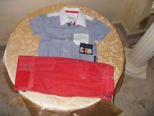 Pantaloncino bimbo MURPHY&NYE + camicia Biblos entrambi cotone 100%.