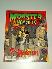 SCARY MONSTERS 2014 YEARBOOK MONSTER MEMORIES #22 HORROR US MAGAZINE