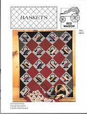 Baskets Quilt Pattern - Red Wagon - Designed by Gerry Kimmel and Linda Brannock