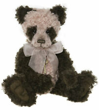 """Save Charlie Bears 2019 Ethel Panda CB191934A 19"""" Plush by Isabelle Lee -"""