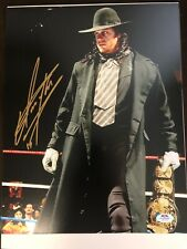 Undertaker Signed Autographed WWE 11x14 PSA DNA COA ! #7