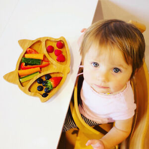 inder Bambus Teller Set Kinderteller Kindergeschirr  Babyteller KBaby Plate
