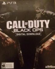 Call of Duty Black Ops Voucher for Sony Playstation 3 PS3