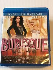 BURLESQUE   ( BLU RAY + DVD ) CHER   CHRISTINA
