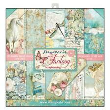 Stamperia Wonderland 12 x 12 Paper Pack Fantasy Scrapbook Papers