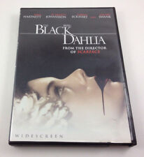 The Black Dahlia DVD 2006 Anamorophic Widescreen
