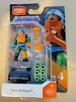MEGA CONSTRUX MASTERS OF THE UNIVERSE Heroes Man-at-Arms  in Stock! MOTU 2020