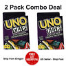 UNO Flip Card Game ( 2 PACK ) - US Seller - Ship Fast - Free Shipping