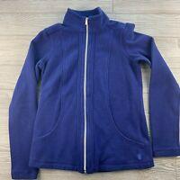 *Tommy Bahama Iced Aqua Aruba Full Zip Sweatshirt Jacket Women's Size XXS