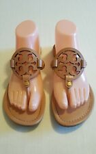 Tory Burch Miller Sandals leather Color Makeup Size 8