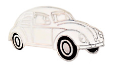 VW Tipo 1 Scarabeo Toga Auto Bianca Spilla Badge