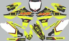 Vibrant Highlighter YAMAHA GRAPHICS  YZ 450F YZ450F 2010 2011 2012 2013