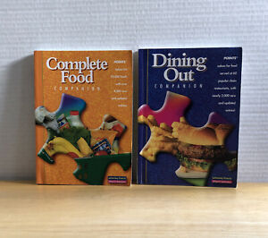 Weight Watchers Winning Points Complete Food & Dining Out Companion WW Book Set