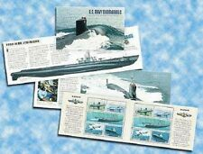 2000 22c - $3.20 Submarines Mint Prestige Booklet (2) Panes of 5 Scott 3373-3377