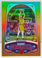 Goga Bitadze RC 2019-20 Chronicles MARQUEE BRONZE PARALLEL Holo Rookie Card #269